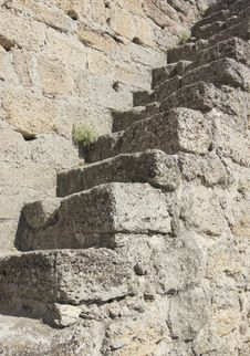 Free Ladder On A Medieval Wall Royalty Free Stock Photo - 18625405