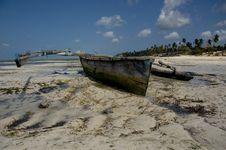 Free Zanzibar Fisherman S Boat Stock Photos - 18625793