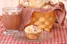 Free Muffins And Cocoa Royalty Free Stock Image - 18626156