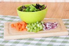 Free Salad Ingredients Stock Photo - 18626270