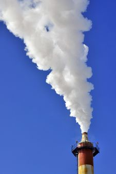 Free Smoke Air Factory Royalty Free Stock Image - 18626306