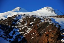 Mountain Elbrus Royalty Free Stock Photos