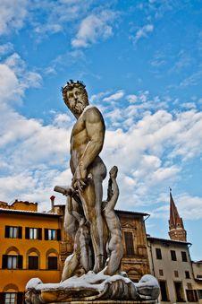 Free Florence, Biancone By Ammannati Royalty Free Stock Photography - 18626757