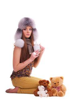 Free Beautiful Brunette Royalty Free Stock Image - 18627056