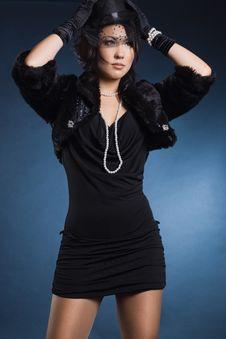 Free Elegant Fashionable Woman Stock Photos - 18627403