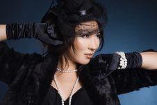 Free Elegant Fashionable Woman Royalty Free Stock Photography - 18627407