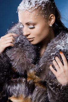 Free Woman In A Fur Coat Stock Photo - 18627460