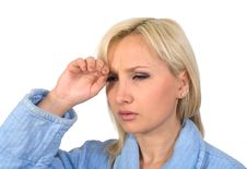 Free Migraine. Royalty Free Stock Photos - 18628468