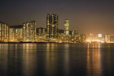 Hong Kong Evening Stock Image