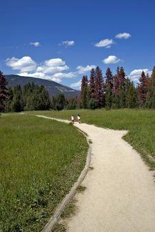 Free Running The Path Stock Image - 18628881