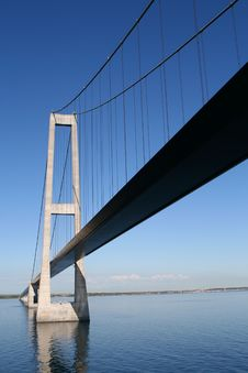 Free Bridge, Øresund, Oeresund Royalty Free Stock Image - 18629036