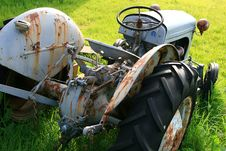 Free Oldtimer Tractor Stock Photo - 18629630