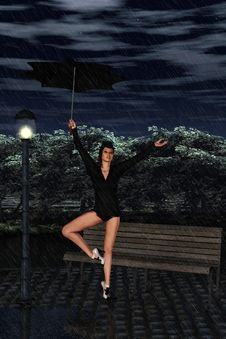 Free I´m Singing In The Rain Stock Image - 18629651