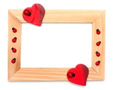 Free Lovely Heart Frame For Your Design Stock Images - 18629734
