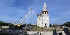 Construction Of Church Royalty Free Stock Image