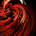 Free Glowing Red Lines Stock Photos - 18636053