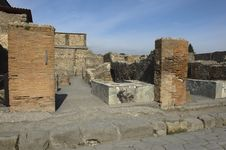Free Pompei, Ruins Royalty Free Stock Photography - 18630337