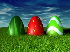 Free Easter Eggs Royalty Free Stock Images - 18630569