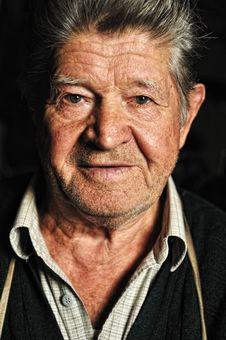Free Elderly Man, Portrait Stock Photos - 18630893