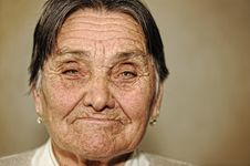 Free Portrait Of Mature Woman Stock Photo - 18631570