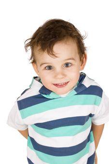 Free Smiling Boy Royalty Free Stock Photo - 18631715