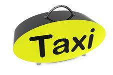 Free Taxi Bag Royalty Free Stock Photos - 18631898