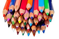 Free Color Pencils Royalty Free Stock Image - 18632056