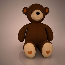 Free Teddy Bear Royalty Free Stock Photography - 18632187
