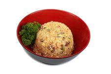 Free Dish Rice With Seafood Stock Photos - 18632263