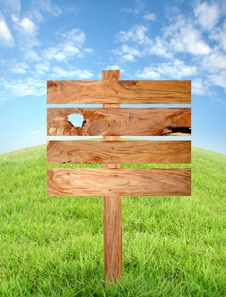 Free Wooden Signboard Stock Photo - 18633060