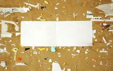 Free Scraps Paper Royalty Free Stock Photos - 18633138