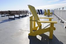Free Yellow Chair. Stock Photography - 18633962