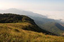 Free Viewpoint At Doi Inthanon National Park Stock Photo - 18634080