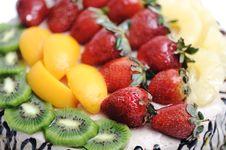 Free Fantastic Fruit Cake Royalty Free Stock Photos - 18634898