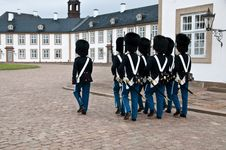 Free Danish Squad Guards Stock Photography - 18635442