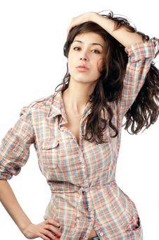 Free Beautiful Young Woman Stock Photos - 18635553