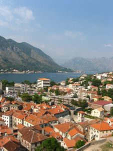 Free Kotor Habrour View Royalty Free Stock Photos - 18636988