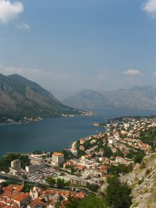 Free Kotor Habrour View Royalty Free Stock Image - 18637046