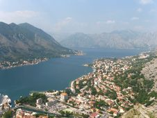 Free Kotor Habrour View Stock Images - 18637074