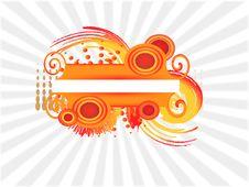 Free Orange Banner Stock Photos - 18637163