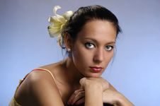 Free The Beautiful Girl Stock Photo - 18637280