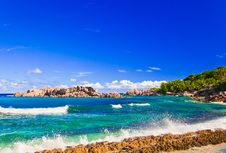 Free Tropical Beach At Seychelles Stock Images - 18638584