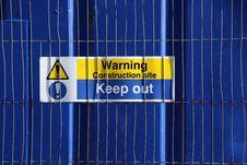 Free Warning Sign Stock Photo - 18638810