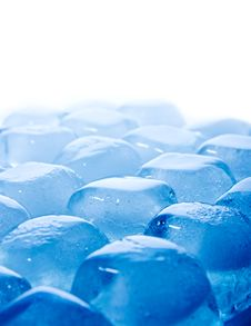 Free Abstract Melted Ice Cubes Blue Stock Photo - 18639860