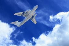 Free Passenger Airplane Stock Photography - 18639862