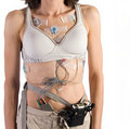 Free Heart Monitor Attached To Female Patient Royalty Free Stock Photos - 18642568
