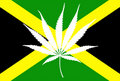 Free Jamaican Flag Marijuana Leaf Stock Images - 18643134