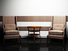 Free Modern  Interior Design Royalty Free Stock Photo - 18641065