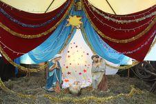 Christmas Figures Royalty Free Stock Photography