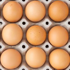 Free Fresh Country Eggs Stock Image - 18641621